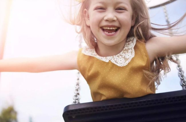 Criança saudável, criança feliz